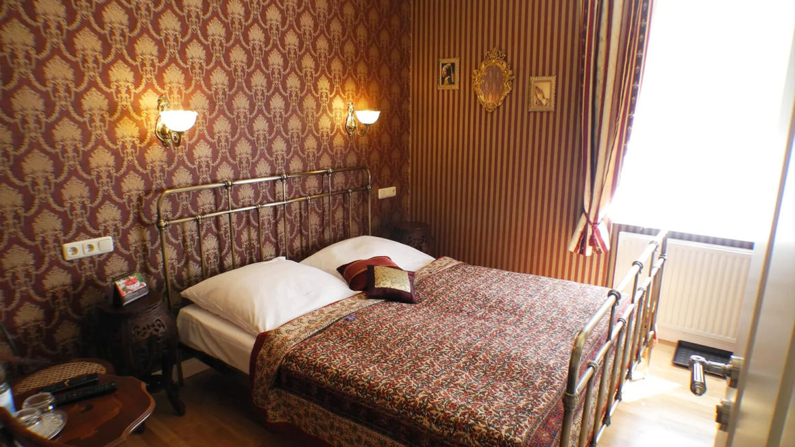 Stadtparkhotel Alexandra kleines Doppelzimmer 4